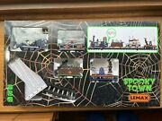 New Lemax Spooky Town 14380 R.i.p. Railroad Sights And Sounds Train L@@k