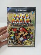 New Sealed Black Label Paper Mario Thousand Year Door Gamecube Great Condition