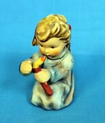 Hummel Figurine 358 Shining Light Angel With Candle 2.75 H