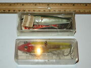 Lot Of 2 Lands Mirrolure Lures Clown Green Shiner