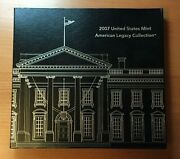 2007 United States Mint American Legacy Collection Silver Proof Set Box And Coa
