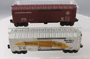 Lionel Vintage O Postwar Assorted Freight Cars 6464-100 And 3484 [2]