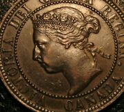 Old Canadian Coins 1901 Large Cent Canada Highgrade Beauty