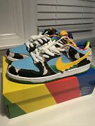 Ben And Jerryand039s X Nike Sb Dunk Low Chunky Dunky Size 9.5 Shoes Ds 100 Authentic