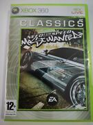 Need For Speed Most Wanted - Microsoft Xbox 360 Classics Pal - Complete W Manual