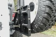Fab Fours Jp-y1261t-1 Off The Door Tire Carrier Fits 2007-2018 Jeep Wrangler