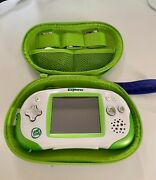 Leapfrog Leapster Explorer System With Case, 4 Games And Camera, Tested