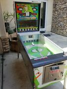 1966 Williams Pitch And Bat Coin Operated Baseball Arcade Game