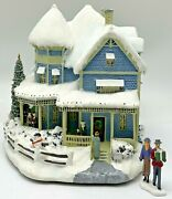 Thomas Kinkade Hawthorne Village Christmas Collection Holiday Bed And Breakfast