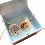 Disney Frozen Necklaces 16 Olaf And Anna Elsa With Singing Music Box