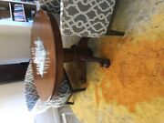 Antique Claw Foot Table Oak Dining Or Breakfast Nook. No Leaves.