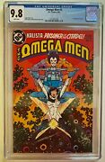Omega Men 3 Cgc 9.8 1st Lobo Appearance Keith Giffen 1983 🔥 Perfect For Ss