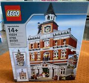 Lego 10224 Creator Town Hall - Brand New Sealed In Factory Box Discontinued