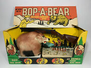 Vintage 1963 Marx Target Game Bop A Bear - With Beautiful Bright Box