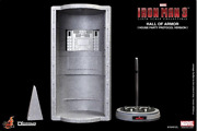 Brand New Hot Toys 1/6 Ds002 Iron Man 3 Hall Of Armor House Party Protocol