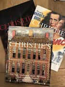 Christie's Antique Toy Auction Catalogues. 3 Included - Trains, Soldiers, Etc