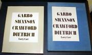Four Fabulous Faces Swanson, Garbo, Crawford, Dietrich By Larry Carr 1970