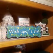 Natural Life Discontinued Boho Chic Rare Blue Handpainted Sign Wish Upon A Star
