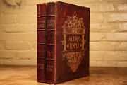 Rare First Edition History Of Aleppo Temple Antique Leather Books Orientalist