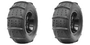 2 Pack Cst Sandblast Rear Tire 32x12-17 15 Paddle For Arctic Cat Prowler