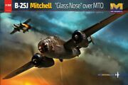 Hong Kong Models 1/32 North American B-25j Mitchell And039glass Noseand039 Over Mto 01e2