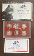 U.s. Mint 50 State Quarter 90 Silver Proof Set 2005 With Box And Coa