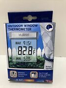 La Crosse Technology Ws-1025 Outdoor Window Thermometer, Ws-1025