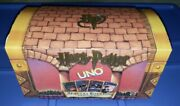 Harry Potter Uno Special Edition Card Game Trunk Vintage 2000 Unused Mint