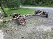 1961 61 1962 Impala Bel Air Biscayne Imp Belair Bubbletop Frame Rolling Chassis