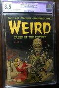 Weird Tales Of The Future 3 Cgc 3.5 R Classic Wolverton Cover