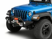 Barricade Trail Force Hd Front Bumper With Led Lights Fits Jeep 2020