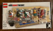 Lego The Big Bang Theory 21302 Open Box All Bags Sealed. Read Details