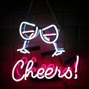 Cheers Real Glass Neon Signs Beer Bar Club Bedroom Neon Lights For Office Hotel