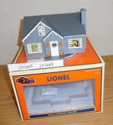 Lionel 1929110 Halloween Lighted House O Gauge Train Accessory Layout Plug Play