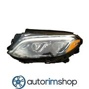 Left Driver Headlight Lens And Housing For 2016-2018 Mercedes Gle63 Mb2518106