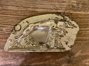 Vintage Antique Greyhound Or Whippet Chocolate Mold
