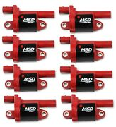 Msd 82688 Gen V Ignition Coil Blaster Fits 14-18 Gmc/chevy/cadillac - 8 Pc