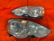 02-04 Acura Rsx Type S And Base - Headlights Headlamps Set - Left Right - Oem Oe
