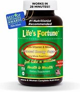 Lifeand039s Fortune Multi Vitamin Mineral Natural Energy 180 Tablets Exp 02/2023
