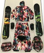 2009 Burton Chuck Anderson Light Camouflage Collection Kevin Pearce I Ride For