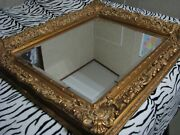 Large Ornate And Elegant Wall Mirror