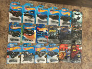 Lot Of 18 New Batman Hot Wheels All Different Models From 2013-2018 Look Rare