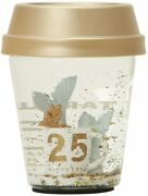 New Rare Starbucks Japan 25th Anniversary Snow Globe 2021 Limited Sold Out Item
