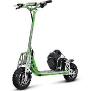 Uberscoot Evo70xgreen 2-speed Gas Motor Scooter Green State-of-the-art Loaded