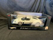 Vintage Limited Edition Hot Wheels Maserati Mc12 1/18 Scale Die Cast Car In Box