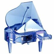 Crystal Piano Music Box Blue In Cosmetic Tune Waltz Of Flowers Sa-j03 Gift