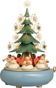 2021 For Arrival In Early October Vento Kun Christmas Music Box Angels Sitting