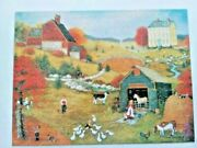 Ceaco Fall On The Farm 500 Piece Jigsaw Puzzle - Complete