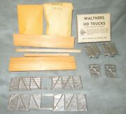 Vintage Walthers Ho Scale Stock Car Kit W/tandc