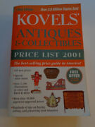 Kovelsand039 Antiques And Collectibles Price List Book 2001 By Ralph And Terry Kovel Pb
